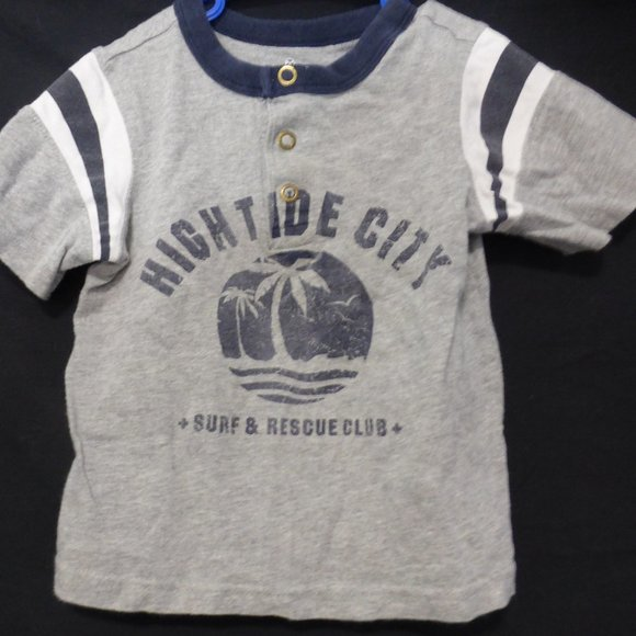 "OLD NAVY, 3T, short sleeve tee, ""HIGH TIDE CITY"""